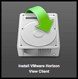 Install VMware Horizon logo