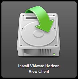 VMware Horizon Client logo