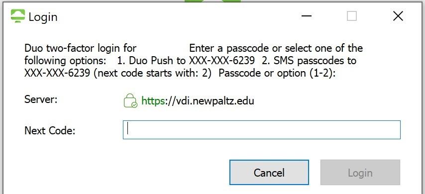 VDI Duo Screen