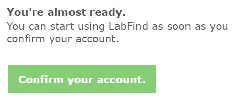 confirm your account