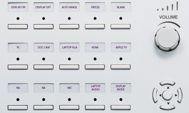 HUM 201 214 216 218 Button Panel