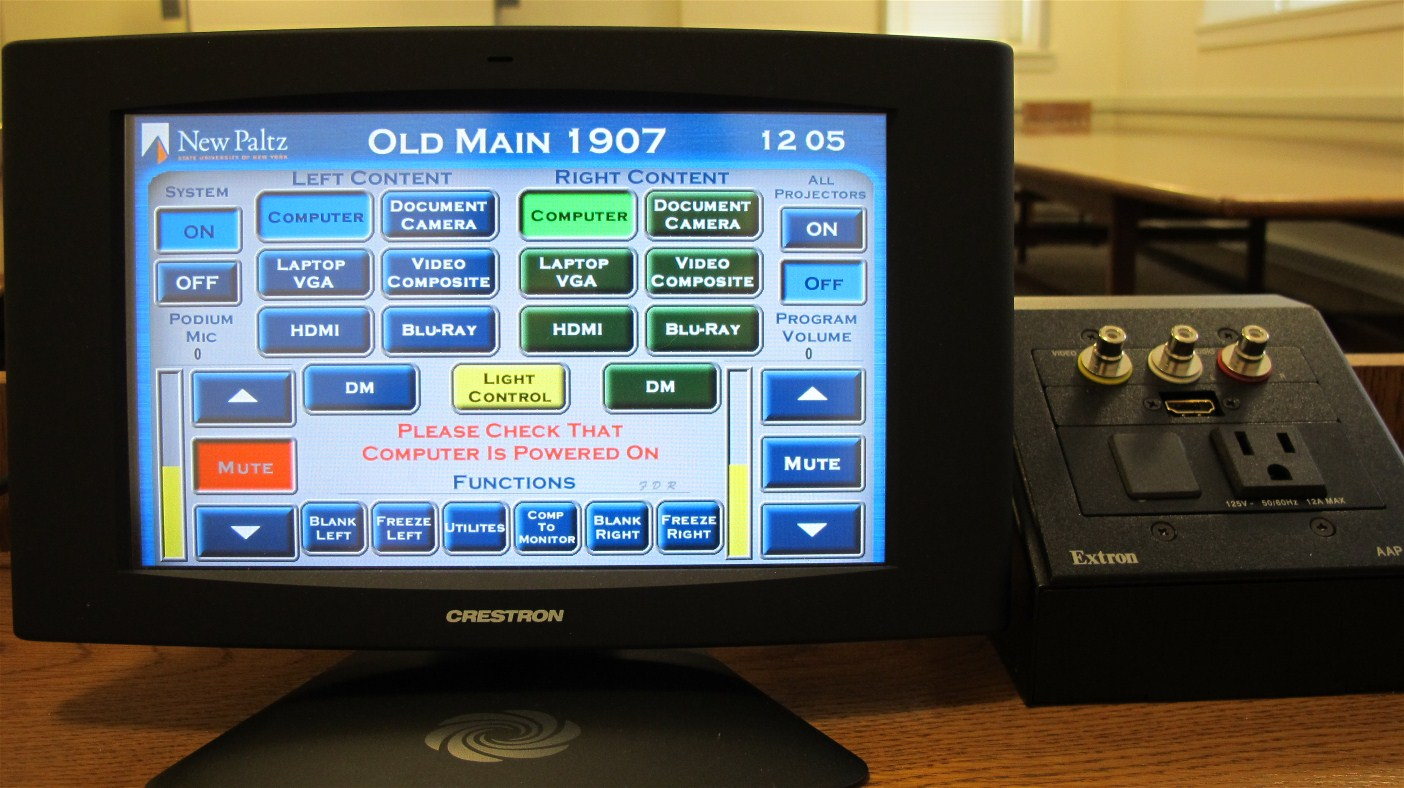 OM1907 Touch Panel