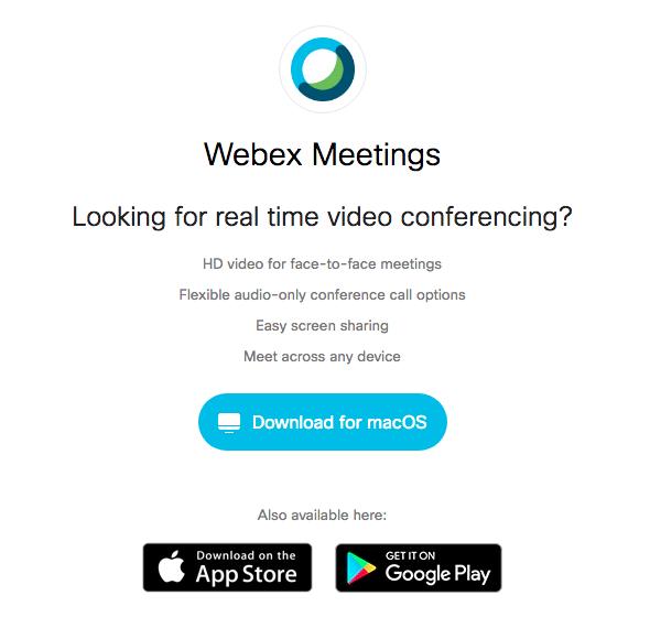Download Webex
