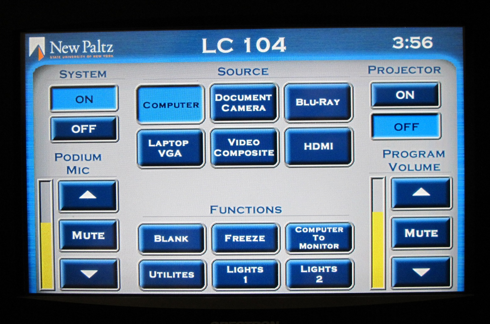 LC104 Touch Panel