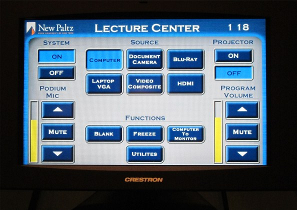 LC100 Touch Panel