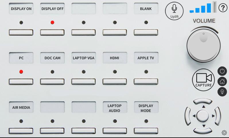 O.I.T. Control Panel