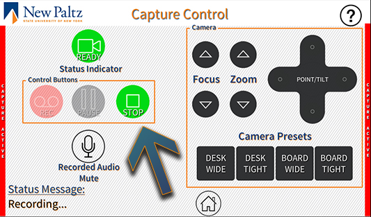 Crestron Capture Stopped