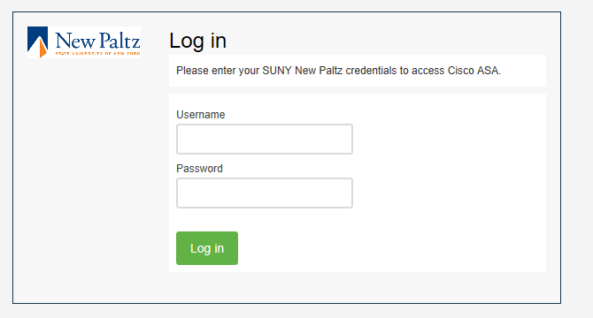 Screenshot of Duo login window
