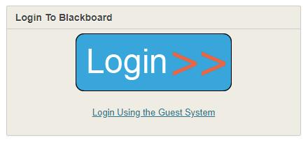blackboard login button