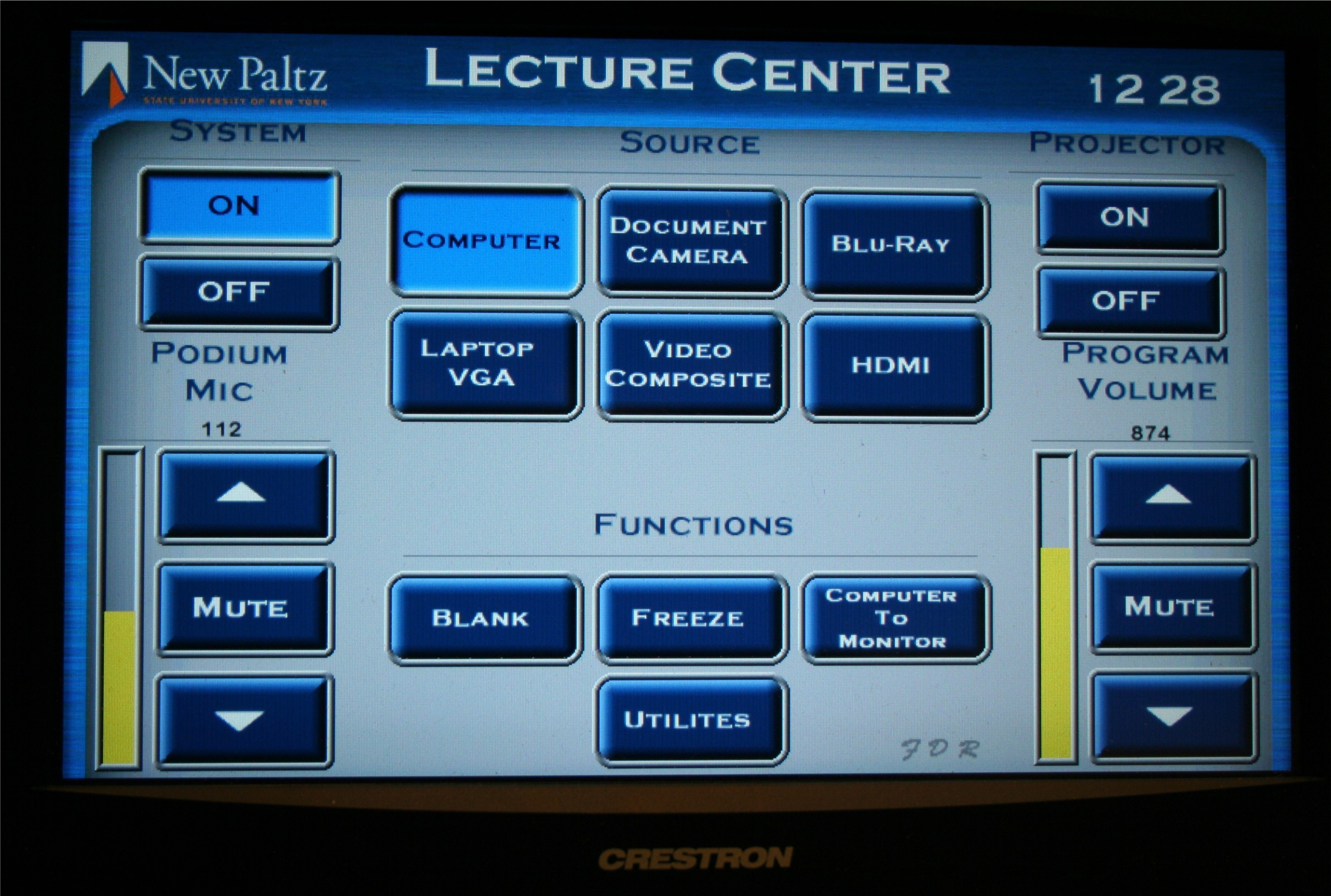 LC108 Touch Panel