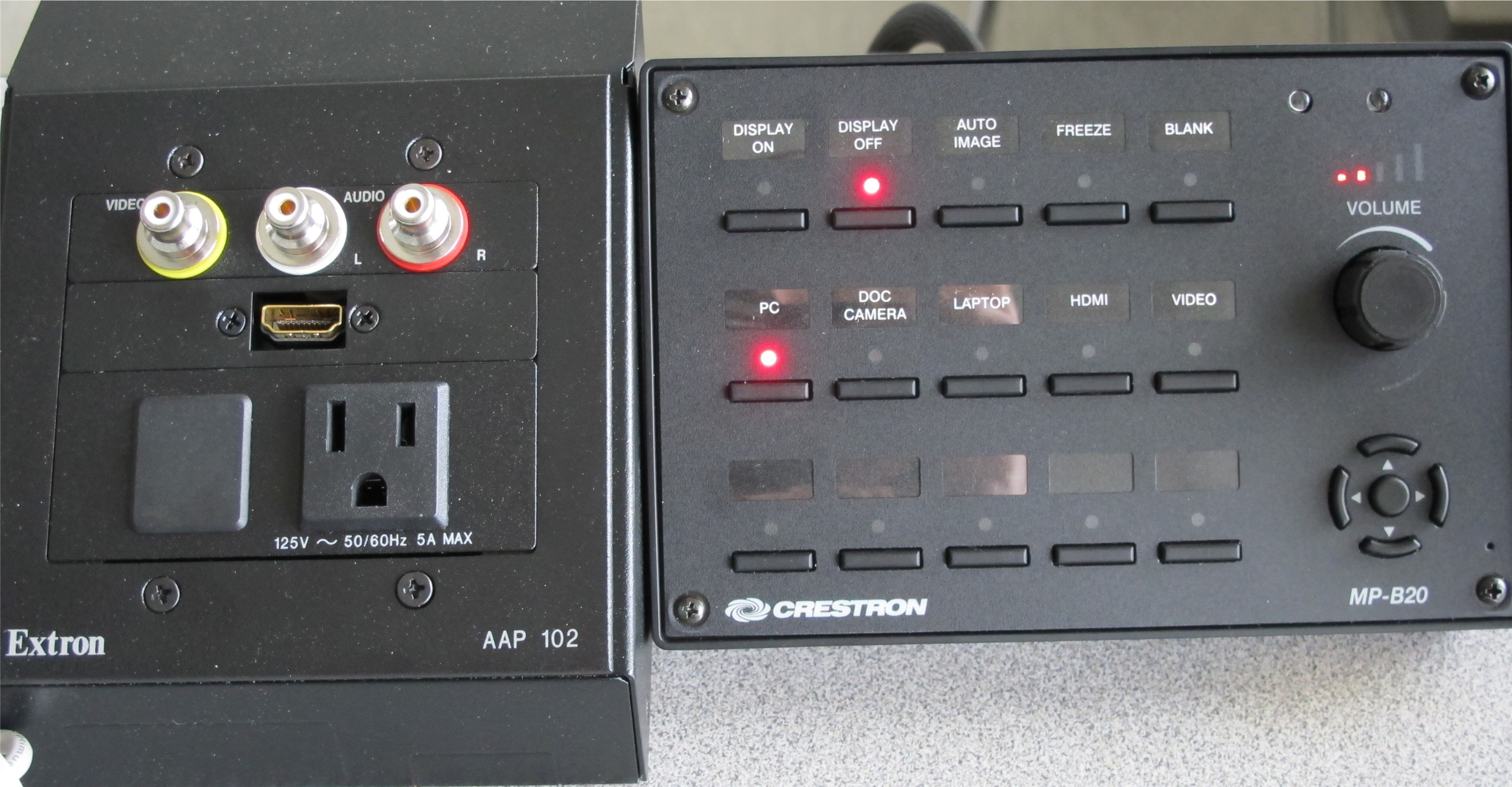 LC107 Button Panel