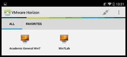 Virtual desktop options
