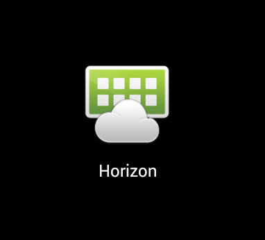 VMware Horizon Client app logo