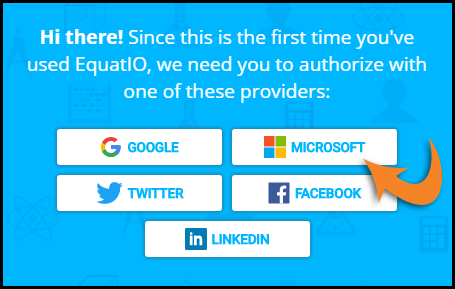 Authentication Provider Screen